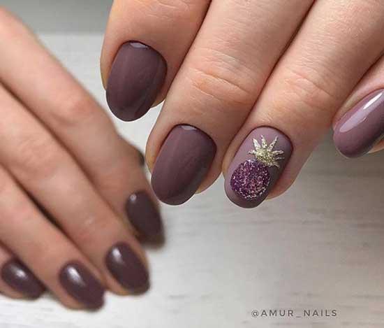 Оригинальные принты на ногтях