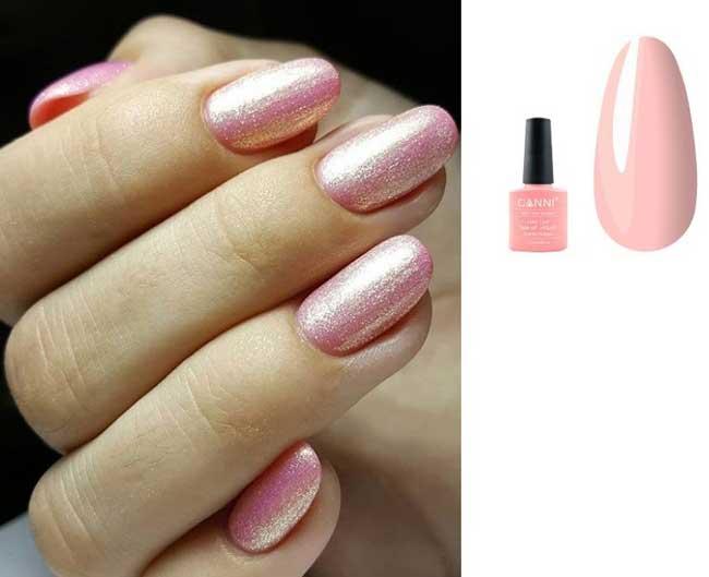 Модный розовый цвет лака 2019