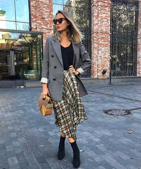 Модные юбки 2020 года: асимметрия