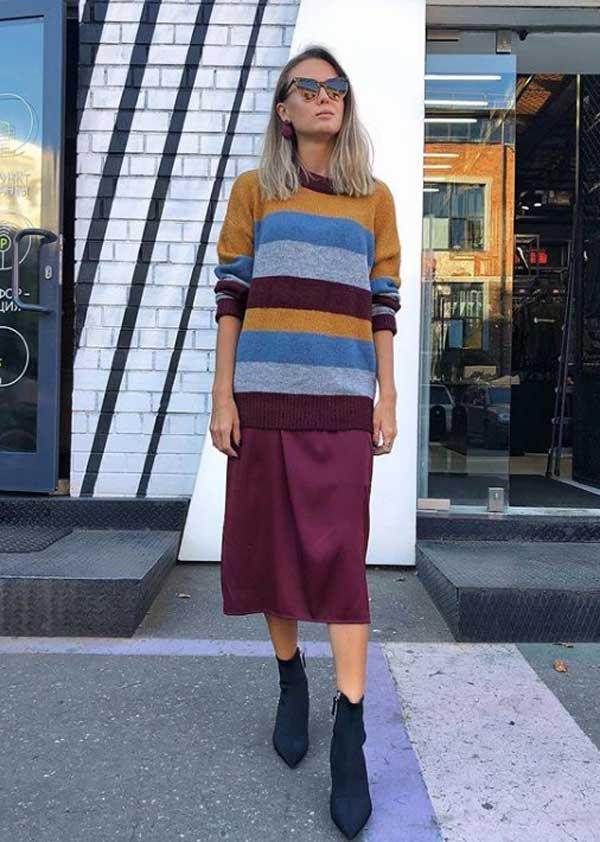 Модные юбки 2019-2020 года - из легкой ткани