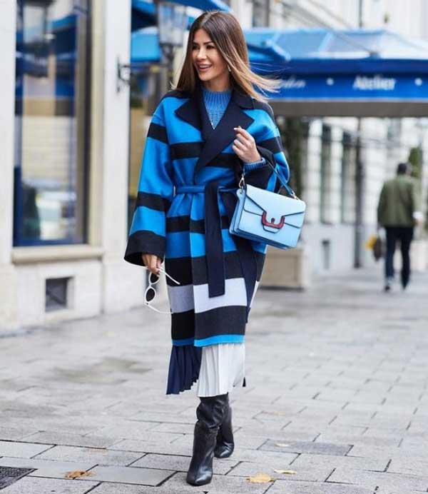 Модные юбки 2019-2020 -плиссированная