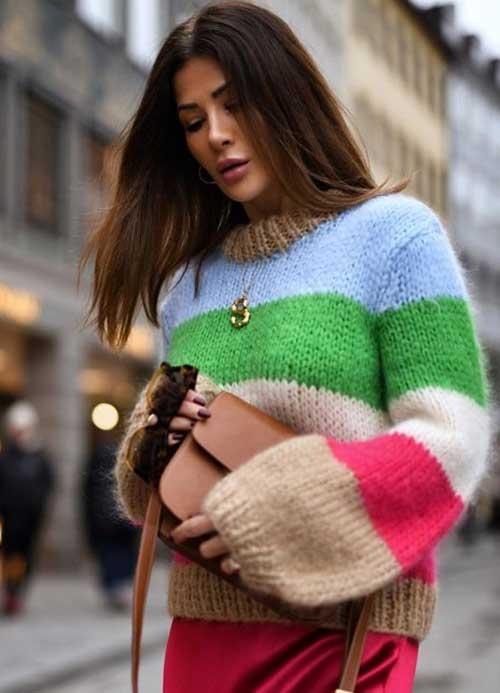 Модный свитер 2019 как выглядит с чем носить