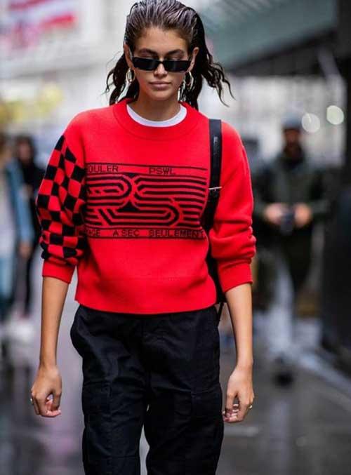 Модный свитер 2019 образы
