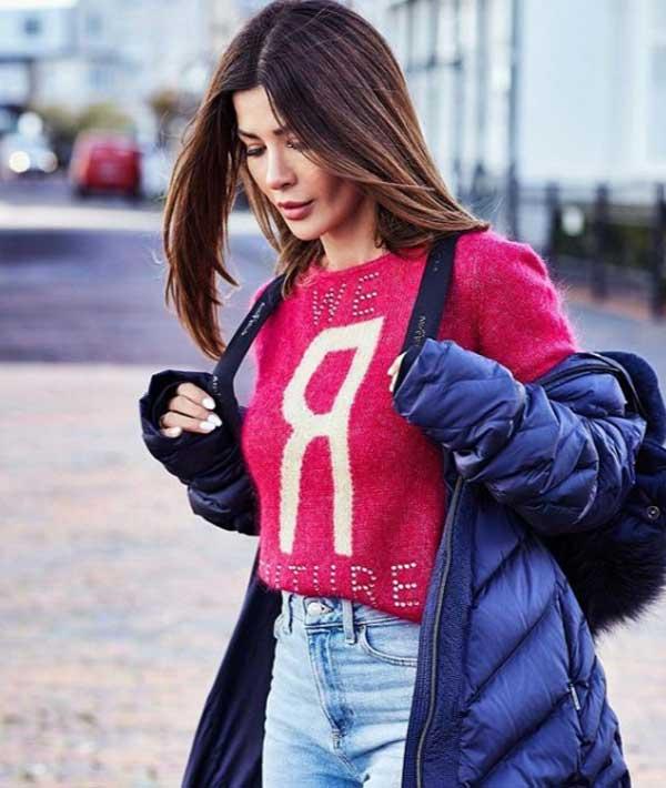 Модный свитер 2019 с джинсами