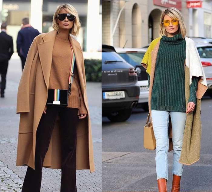 Модный свитер - цвета 2019