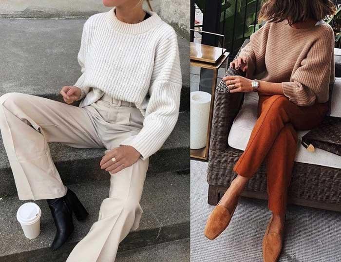 Модный свитер 2019 фото
