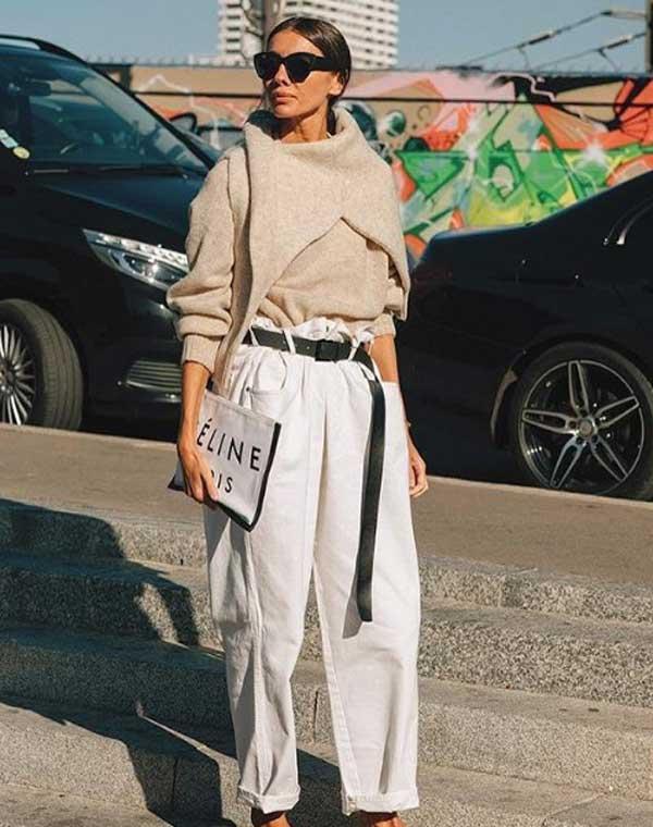 С чем модно носить свите в 2019