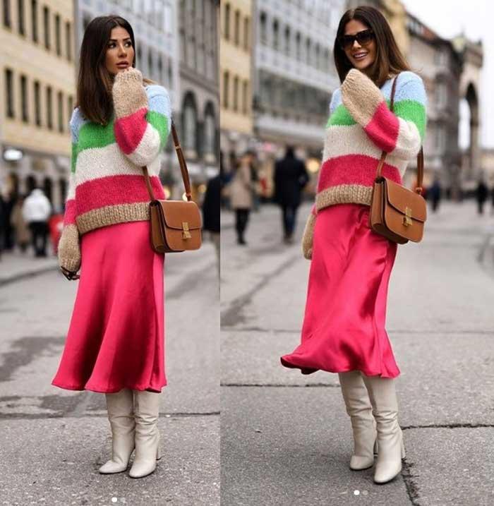 Модный свитер 2019 с чем носить