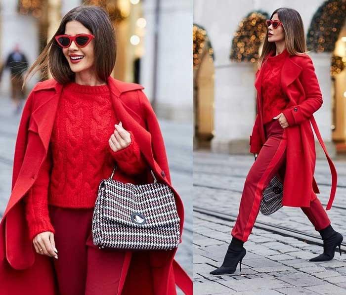 Модный свитер 2019 с брюками