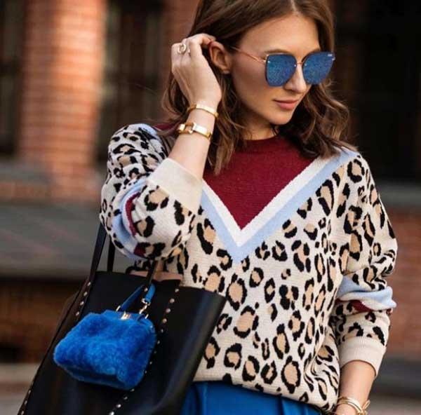 Модный свитер 2019