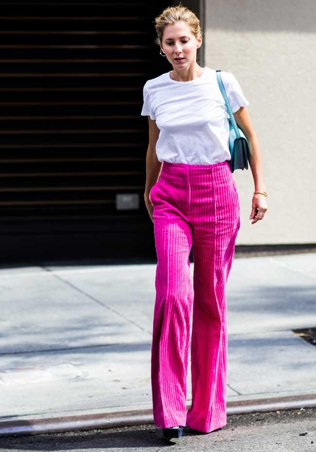 С чем модно носить вельветовые брюки