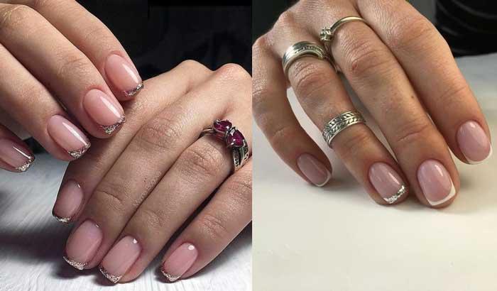 «Жидкая фольга» на ногтях: топовые идеи маникюра, фото-новинки
