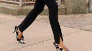 Брюки с разрезами: микротренд 2019, как внедрить в свой гардероб