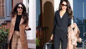 Деловой стиль Амаль Клуни: от достаточно строгих, до ярких образов