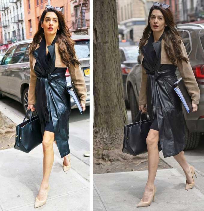 Стильные новые образы Амаль Клуни