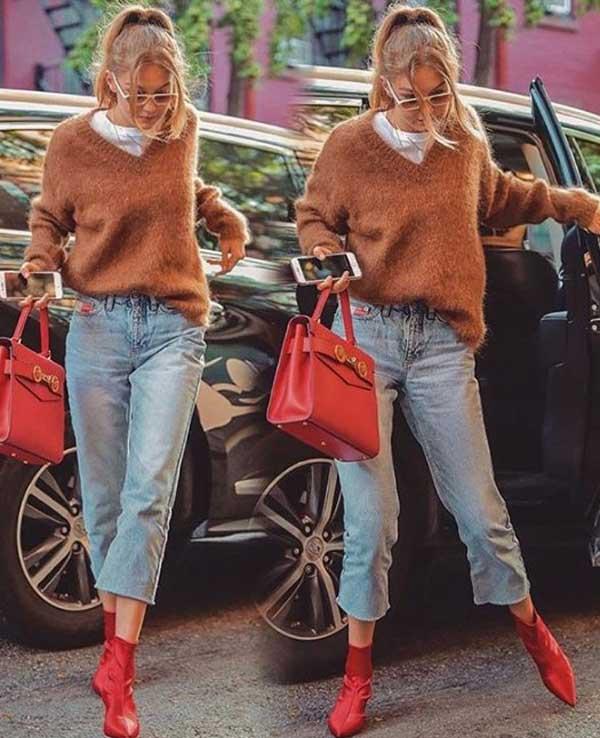 Коричневый цвет в одежде тренд 2019: лучшие образы