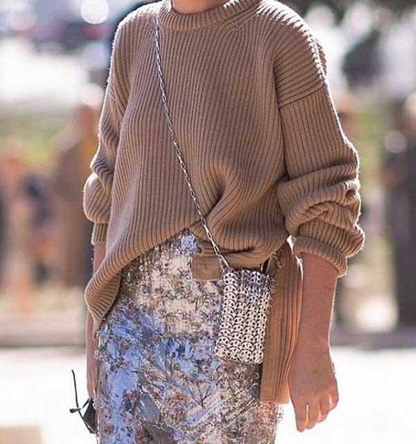 Как модно носить коричневый цвет в одежде