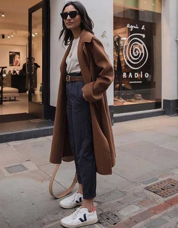 Модные образы с коричневым цветом