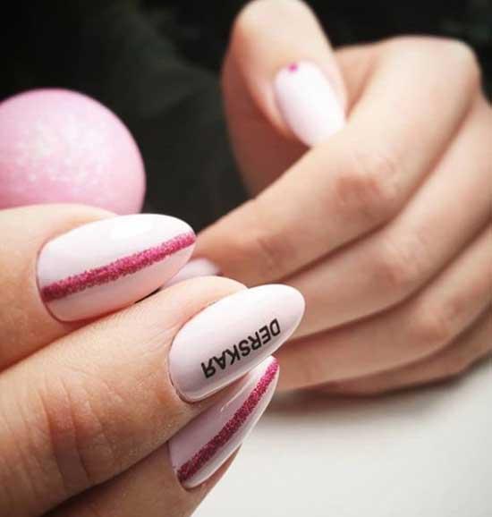 Надпись на ногтях - дерзкая