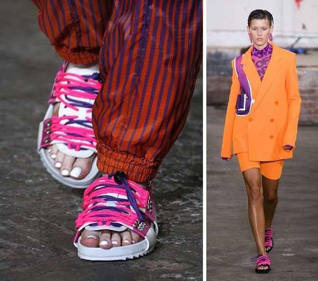 Модная обувь весна-лето 2019 фото новинки