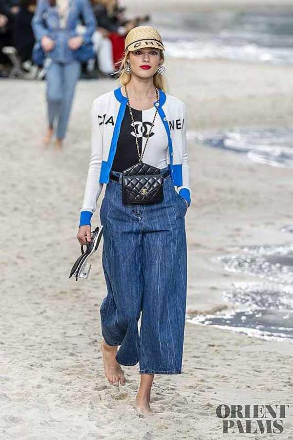Chanel - модные джинсы