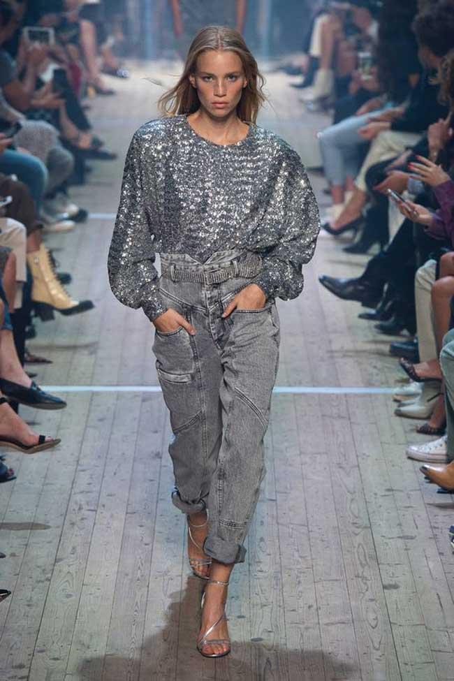 Модные джинсы 2019 sabel Marant коллекция