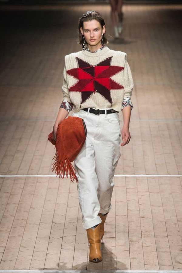 Модные белые джинсы Isabel Marant коллекция