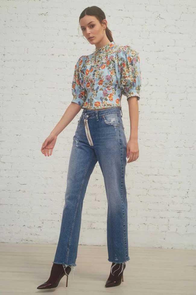 Модные джинсы - актуальная посадка 2019