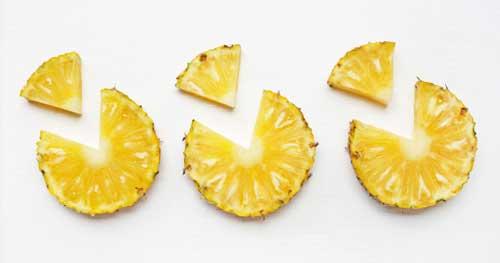 Пять полезных продуктов, которые вредят фигуре - ананас