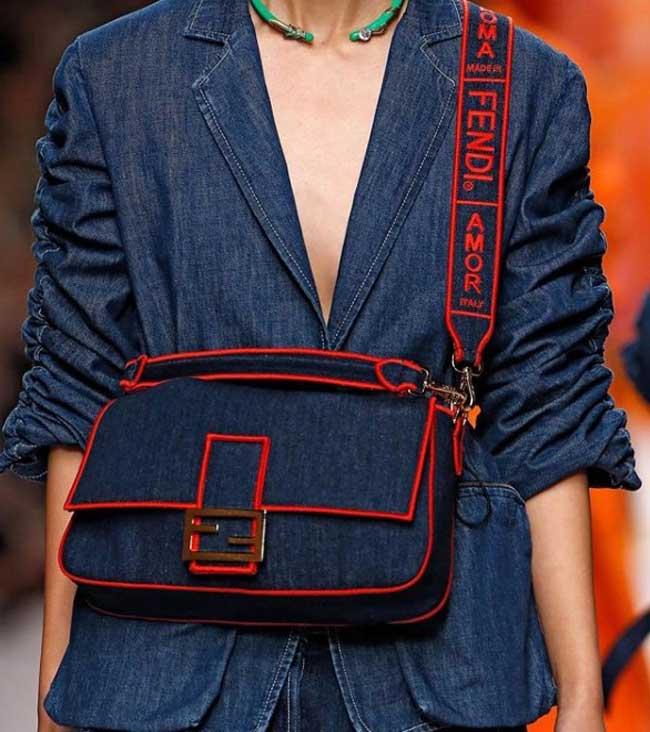 Модная сумка Fendi Baguette
