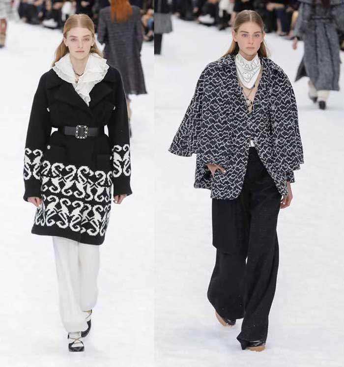 Модные пальто Chanel 2019