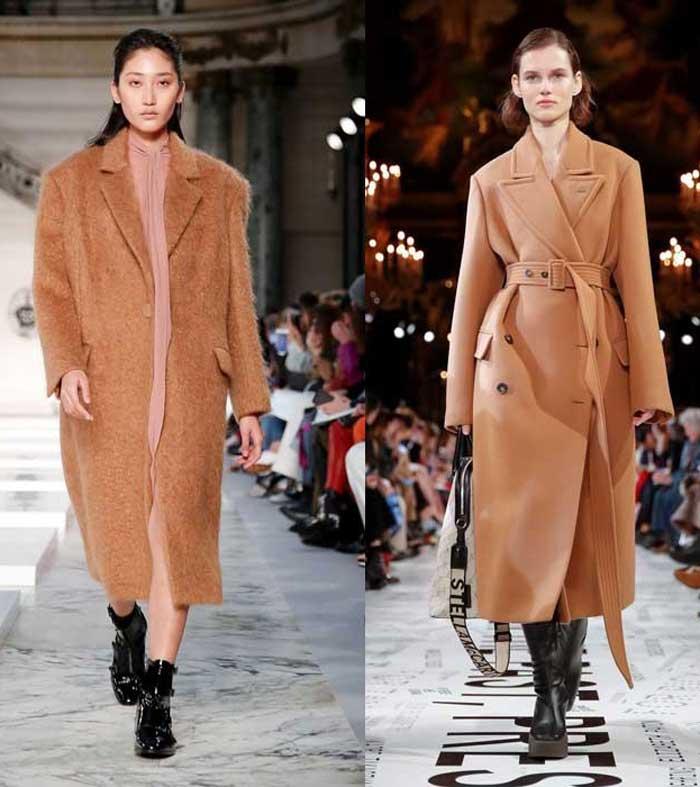 Stella McCartney модное пальто весна и осень 2019