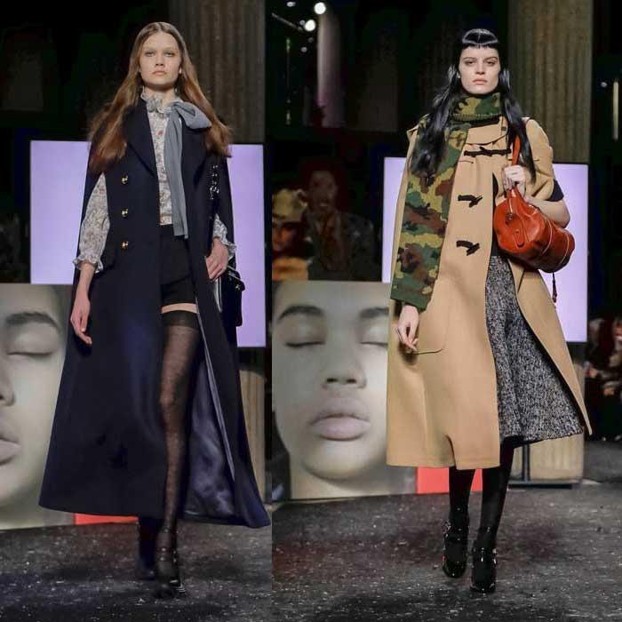 Модные пальто кейп 2019
