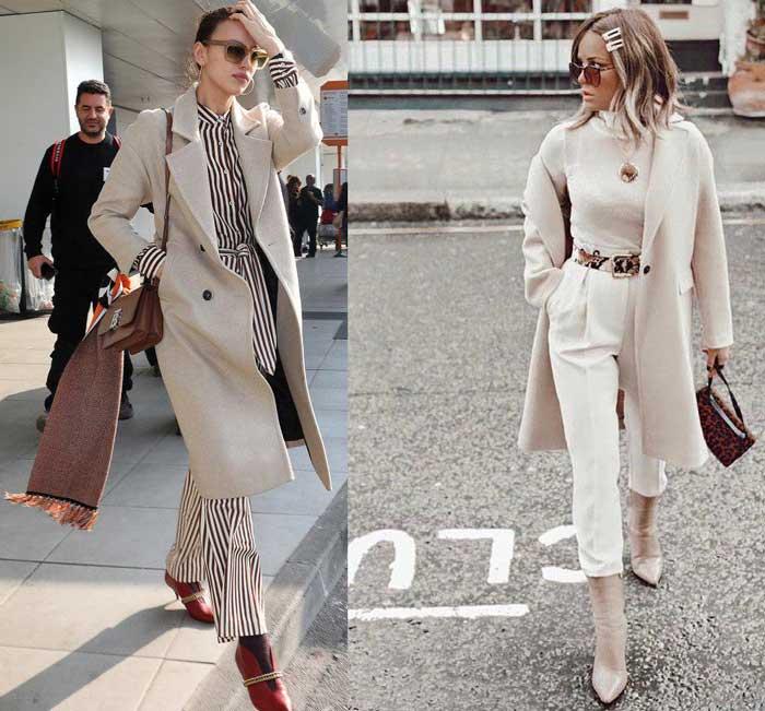 Модное пальто на весну и осень 2019