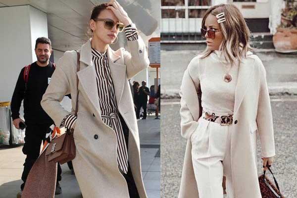 Модные пальто весна и лето 2019