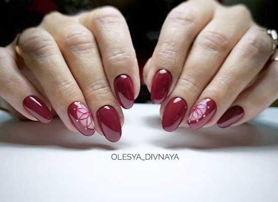 Negative nails и цветы