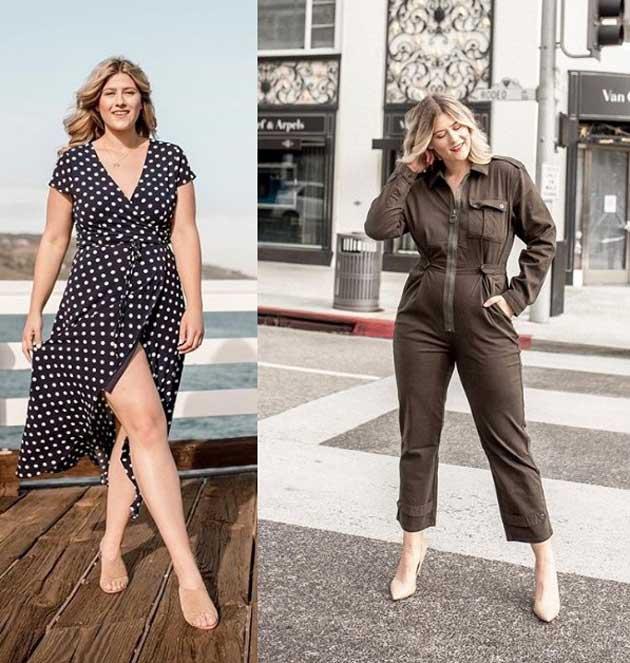Как одеваться девушкам плюс сайз - образы