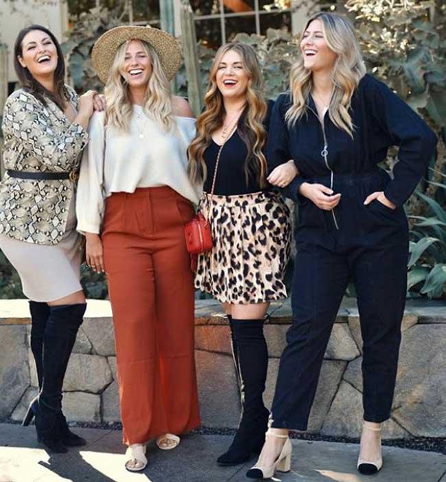 Как одеваться полным девушкам - обувные тренды на фото