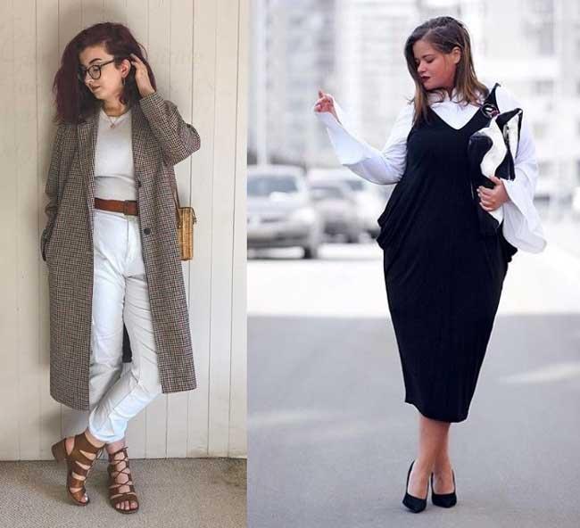Как одеваться девушкам с пышными формами
