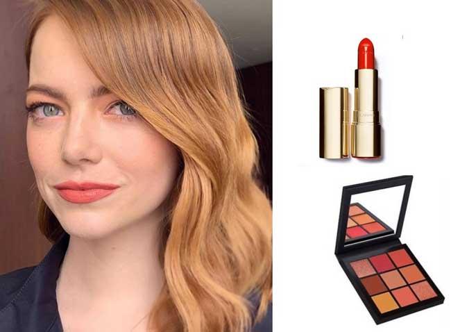 Модный макияж 2019 коралловый