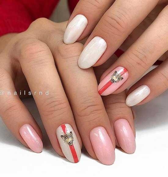 Модные ногти 2019-2020 розовые