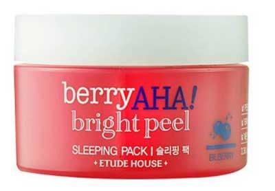 Ночная маска Etude House Berry с АНА кислотами