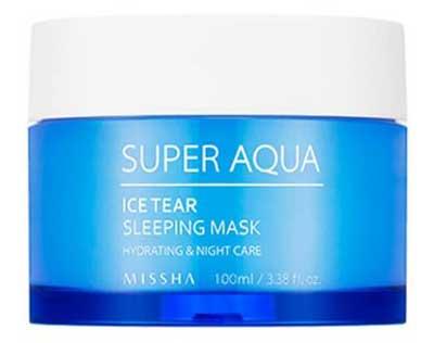 Ночная маска увлажняющая Missha Super Aqua Ice Tear Sleeping Mask