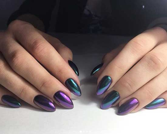 Втирка майский жук на ногтях