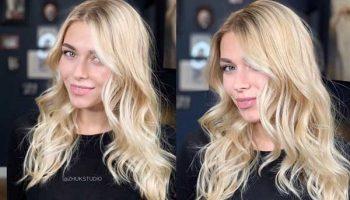 Модные окрашивания блондинок: актуальные оттенки 2019 на фото
