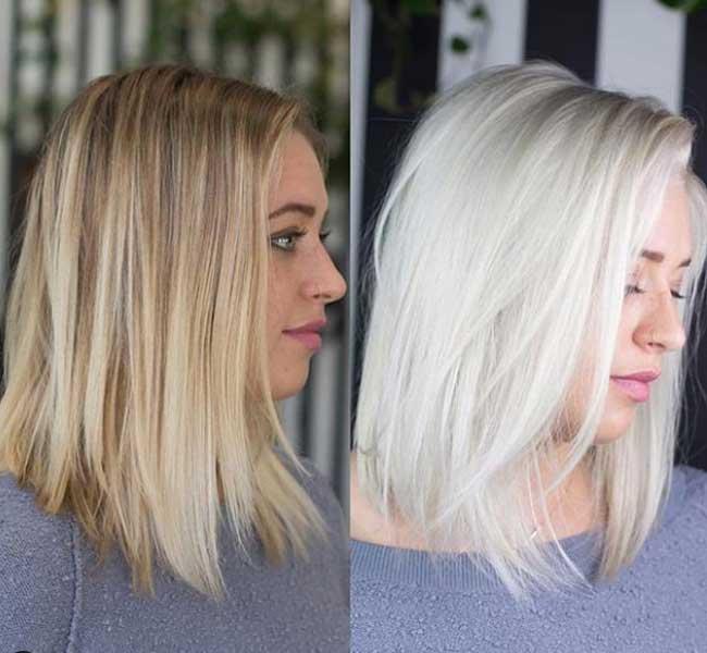 Модные оттенки волос для блондинок