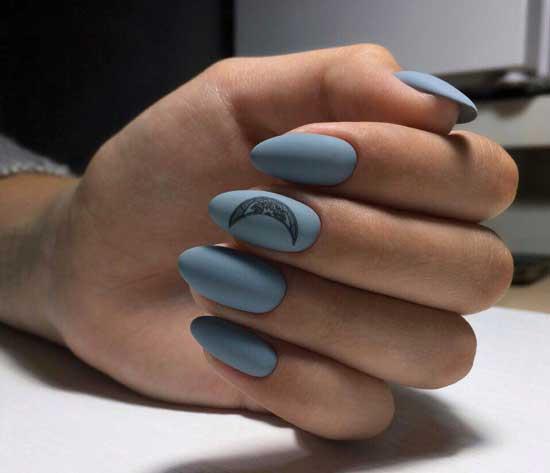 Острая форма ногтей и дизайн 2019-2020