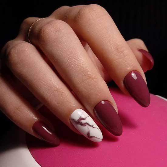 Острые ногти дизайн