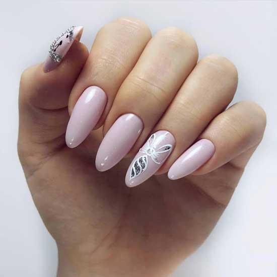 Острые ногти модный дизайн