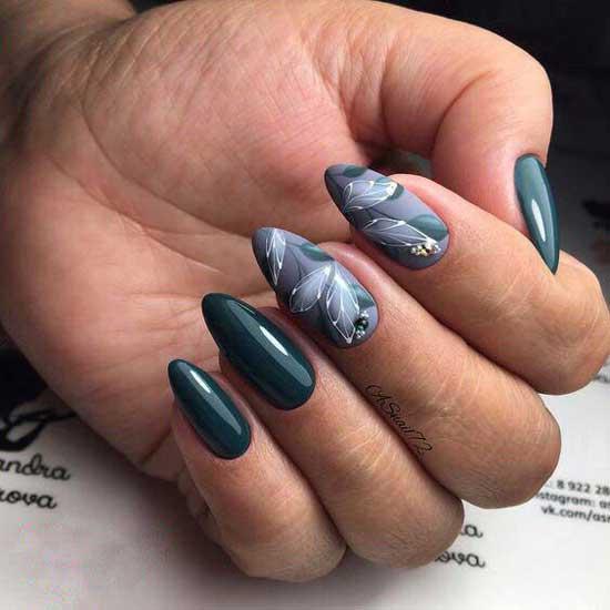 Фото-идеи маникюра острые ногти 2019-2020